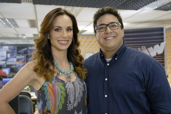 Ana Furtado e André Marques se despedem do Vídeo Show