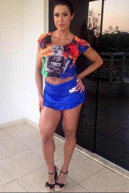 Gracyanne Barbosa combate celulite toda semana, mesmo não tendo nenhum furinho. Conheça o segredinho da Gracy