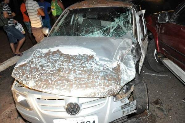 Grave acidente entre caminhonete hillux e saveiro na PI-113 deixa duas pessoais feridas