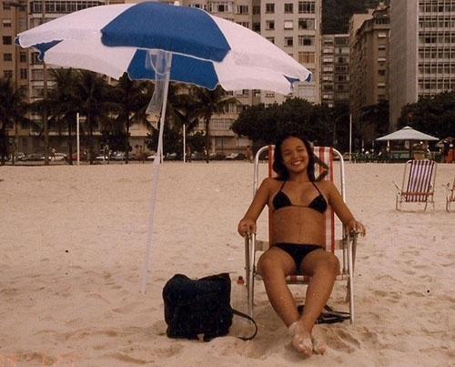 Carol Nakamura relembra a sua gravidez depois de quinze anos