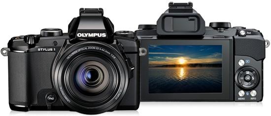 Olympus anuncia Stylus 1, câmera com Wi-Fi e visor sensível ao toque
