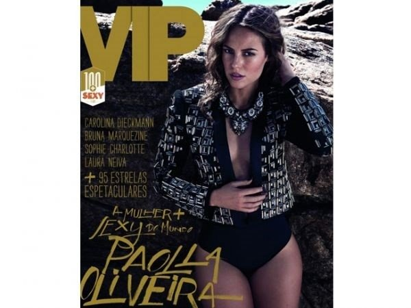 Paolla Oliveira é eleita a mulher mais sexy de 2013