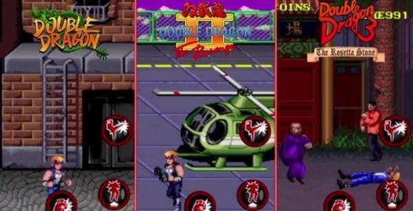 Double Dragon Trilogy trará a clássica série de ação para iOS e Android