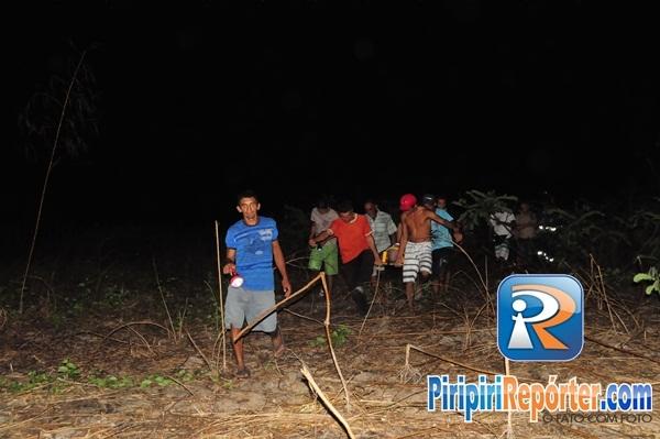 Sui輟 cai de parapente em mata na zona rural de Piripiri