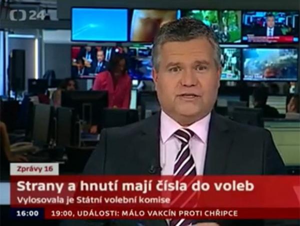 Emissora comete gafe e exibe pênis atrás de âncora na República Tcheca