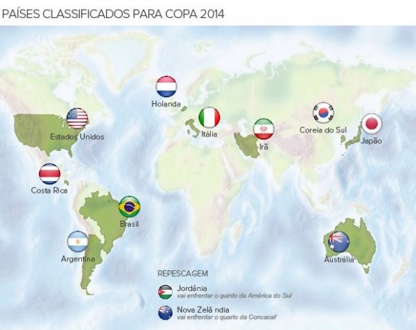 Fifa definirá critério para escolher as cabeças de chave da Copa em outubro
