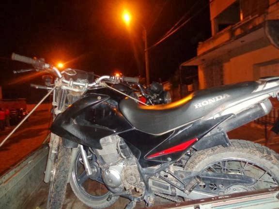 Motos roubadas em Parnaíba são recuperadas pelo GRP em Santana do Maranhão