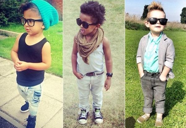 Insta fashion: página reúne crianças mais fofas e estilosas da rede social