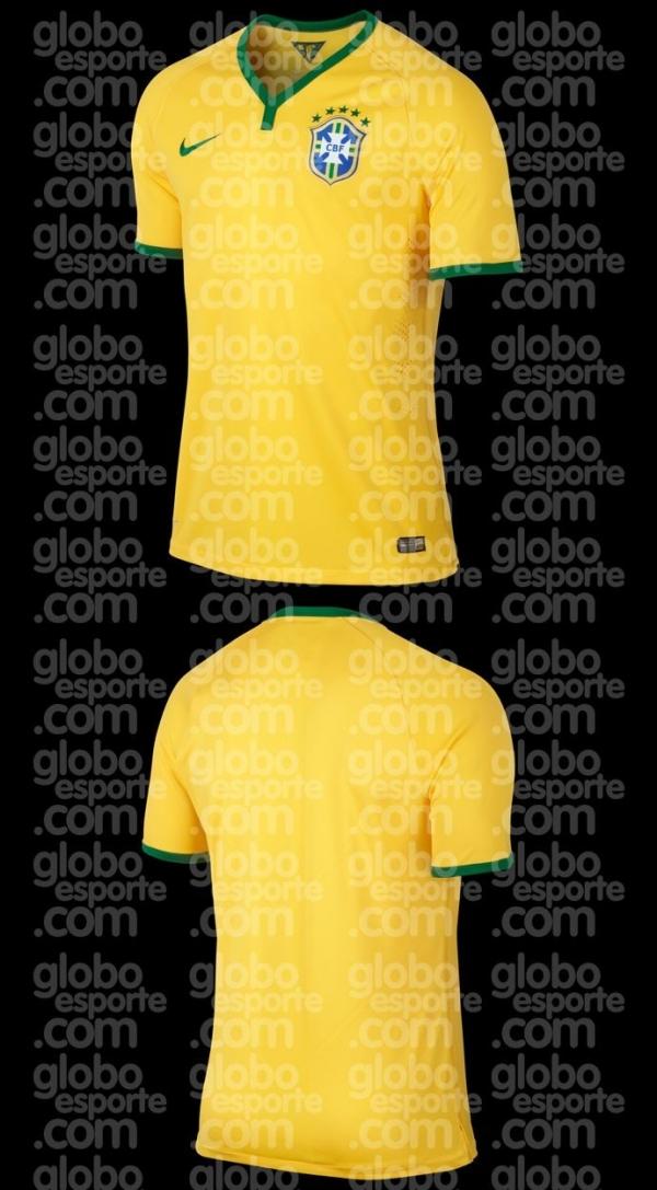 Exclusivo: conheça a camisa que o Brasil usará na Copa do Mundo de 2014