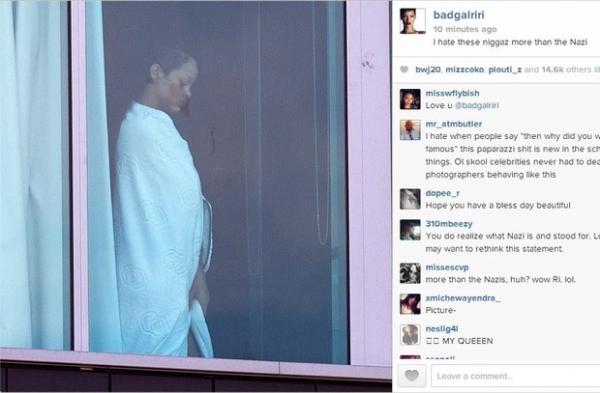Rihanna esbraveja contra paparazzi: