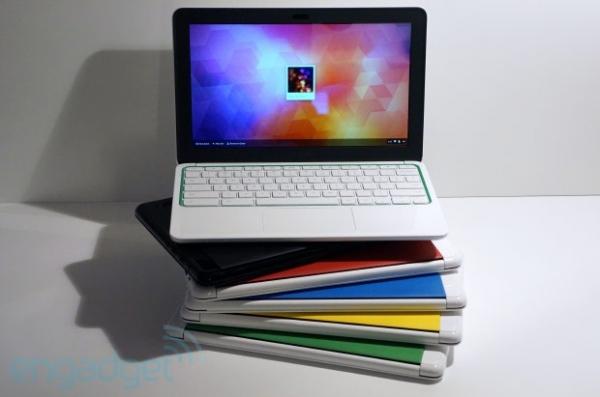Google lança Chromebook de 11 polegadas em parceria com a HP