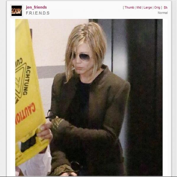 Jennifer Aniston corta cabelos ap progressiva brasileira dar errado