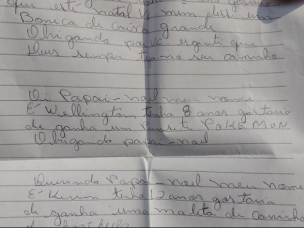 Menina de 5 anos baleada em ponto de ônibus levava carta para Papai Noel