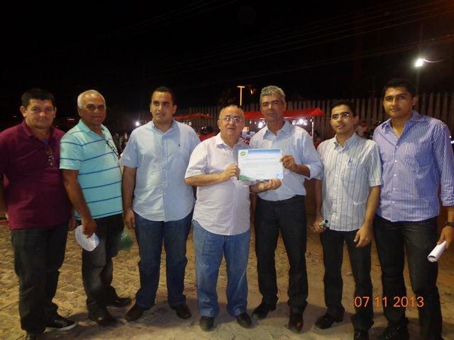 Prefeito Zé Sena recebe diploma pelo SEBRAE em Teresina – PI