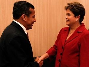 Dilma faz visita oficial ao Peru para assinar acordos de coopera鈬o