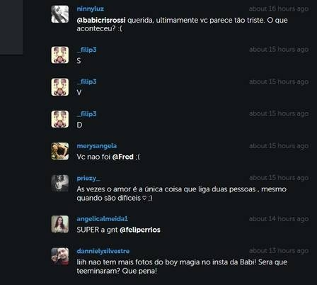 Mãe de Babi Rossi nega fim de namoro da filha com Olin Batista após ex-panicat deletar fotos
