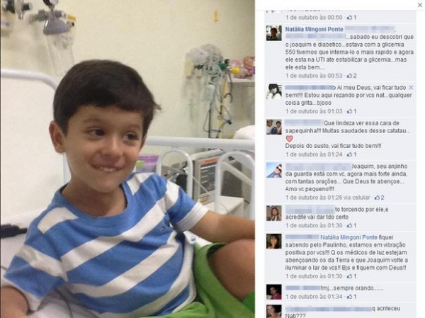 Promotor diz que menino Joaquim pode ter morrido por excesso de insulina