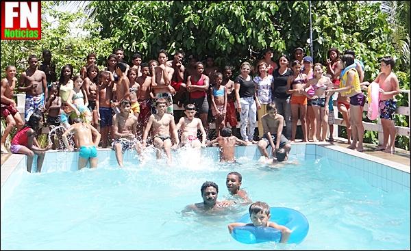 CRAS do município de Acauã (PI) promove dia de lazer para as crianças e adolescente do PETI.