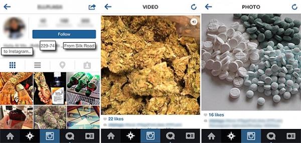 Instagram tem problemas com venda de drogas online e bloqueia hashtags