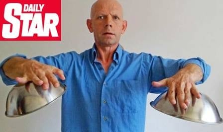 X-Men da vida real: alem縊 consegue atrair metais para o seu corpo