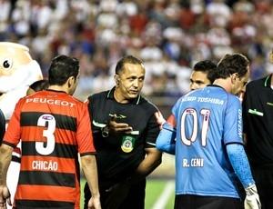 Chicão acusa o árbitro de ofender o  Flamengo:
