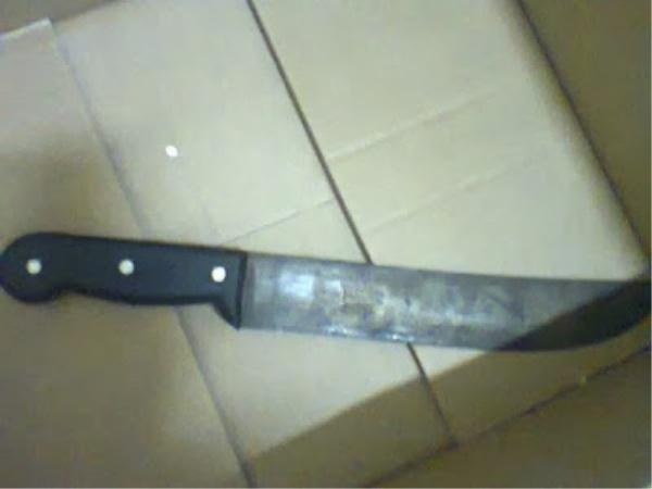 Homem é preso após agredir esposa com facão no Piauí