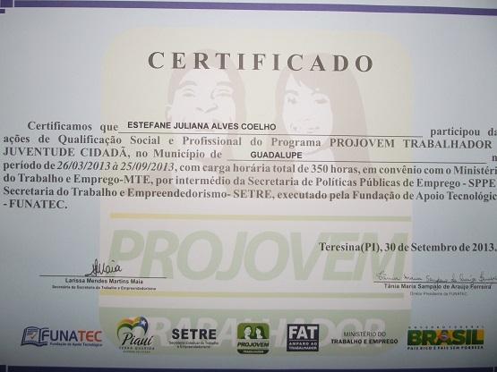 Prefeitura de Guadalupe entrega diplomas do Provem Trabalhador - Imagem 9