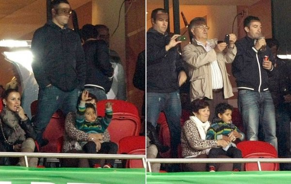 Filho de Cristiano Ronaldo serve de inspiração ao pai diante da Suécia