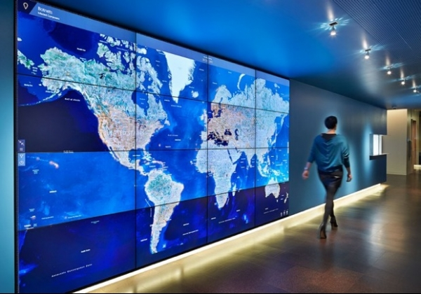 Microsoft cria quartel general futurístico para combater crimes virtuais