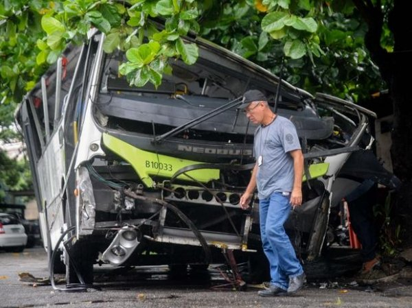 Estudante confessa que chutou motorista de ônibus que caiu de viaduto