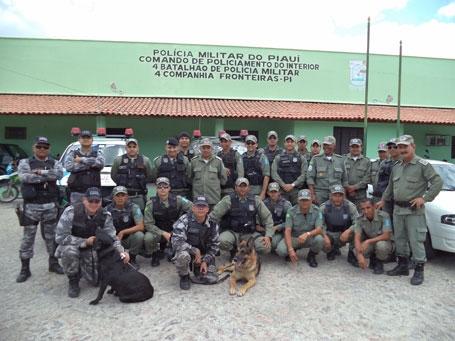 泥evassa acaba com 10 presos e drogas apreendidas no Piau