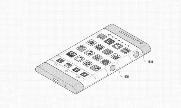 Patente da Samsung revela v疵ios recursos em celular de tela curva