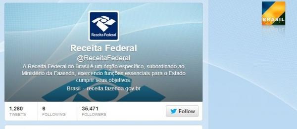 Receita Federal completa 45 anos e lança conta no Twitter