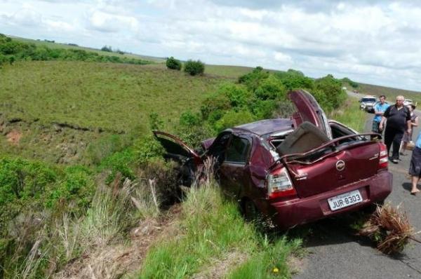 Motorista se salva depois de dois dias após acidente em São Pedro do Sul