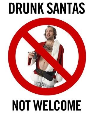 Polícia de Nova York pede que bares não sirvam álcool para Papais Noéis