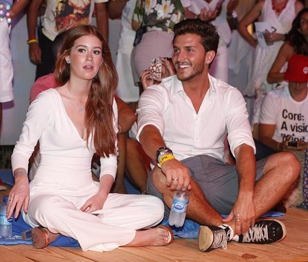 Marina Ruy Barbosa sobre namoro com Klebber Toledo: