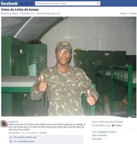 Cabo baleado e morto por soldado em forte de Niterói entrou no Exército a pedido do pai: ?Ele queria ser PM?