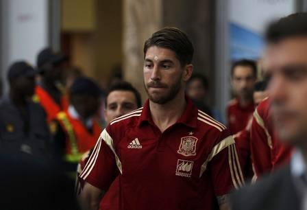 Mulher de Sergio Ramos, do Real Madrid, vai à polícia registrar queixa contra foto íntima que circula na internet