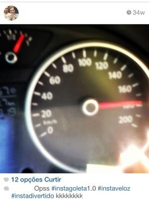 Foto mostra que jovem que bateu a 170 km/h gostava de velocidade