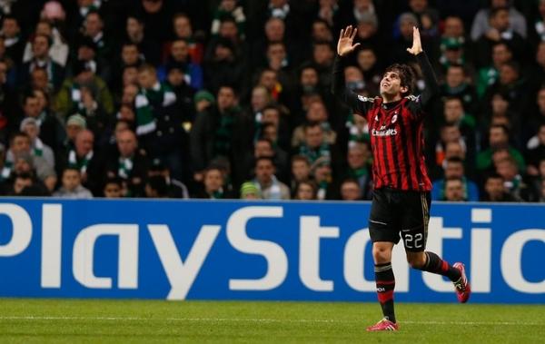 Próximo do 100º gol pelo Milan, Kaká diz: