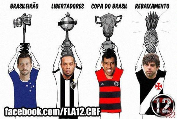 Após título, rubro-negros ironizam o Vasco e Paulo Baier nas redes sociais