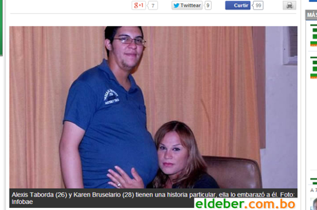 Esperando primeiro filho, casal transexual se casar na Argentina