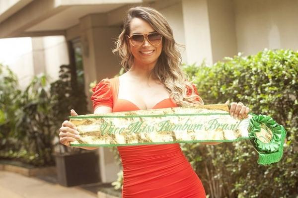 Vice Miss Bumbum 2013, Eliana Amaral vai posar nua em revista
