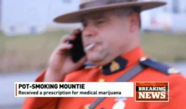 Policial pede para fumar maconha em serviço e cria polêmica no Canadá
