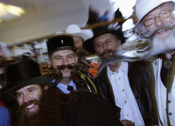 Cada qual com a sua! Alemanha tem campeonato de barbas; veja