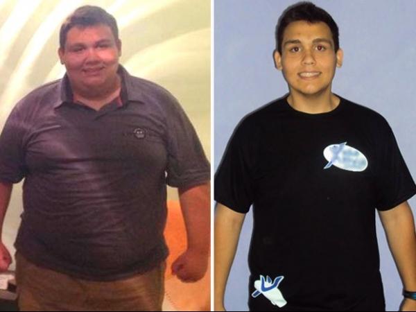 Jovem perde 63 kg em seis meses e prepara corpo para o verão