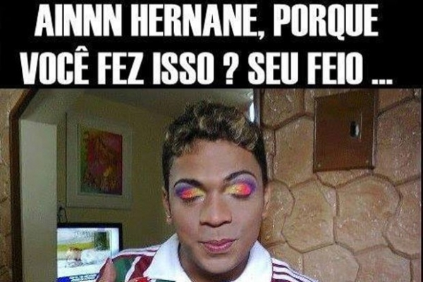 Fluminense vira piada na Internet após derrota no clássico contra o Flamengo