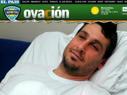 Goleiro uruguaio perde quatro dedos da mão após acidente doméstico