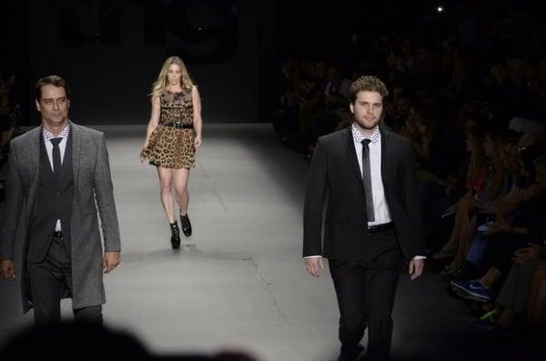 Winits, Thiago Fragoso e Marcello Antony desfilam no Fashion Rio