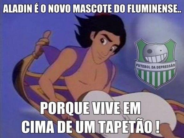 Fluminense vira alvo de piadas na web